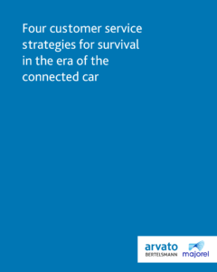 Four customer service strategies for survival in the era of the connected car